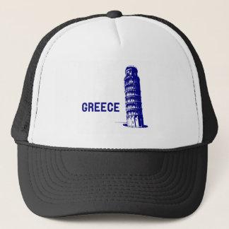 Greece Pisa Trucker Hat