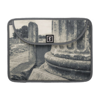 Greece, ruins of ancient city sleeve for MacBook pro