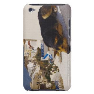 Greece, Santorini Island, Oia City, dog sleeping Barely There iPod Cover