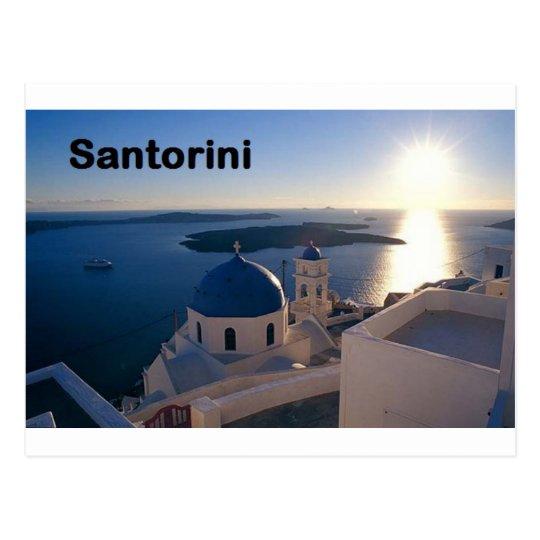Greece Santorini Sunset (St.K) Postcard