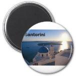 Greece Santorini Sunset (St.K) Refrigerator Magnet