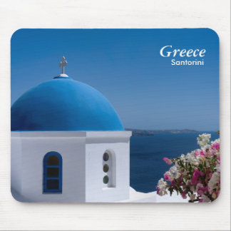 Greece Santorini Travel Mouse Mat