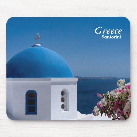 Greece Santorini Travel Mouse Mat