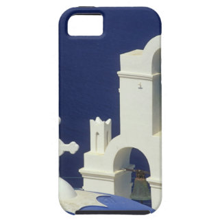 Greece, Santorini. View of a Greek church and iPhone 5 Cover