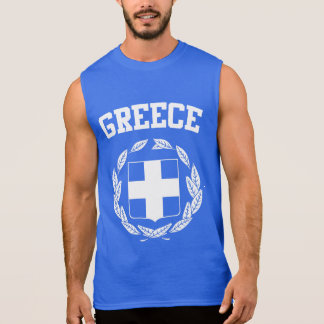 Greece Seal Sleeveless Shirt