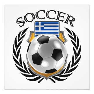 Greece Soccer 2016 Fan Gear Photograph