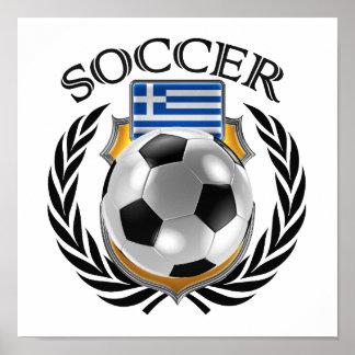 Greece Soccer 2016 Fan Gear Poster