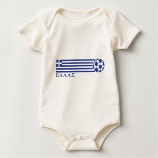 Greece Soccer Baby Bodysuit