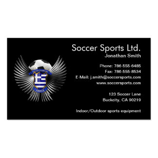 Greece Soccer Champions Business Card Templates