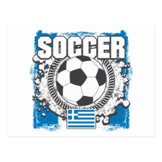 Greece Soccer Postcard