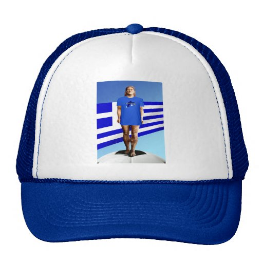 Greece Soccer T-shirts and gift ideas Trucker Hat