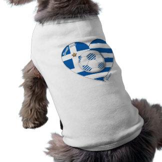 """GREECE"" soccer team. Greece soccer 2014 Football Sleeveless Dog Shirt"