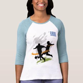 Greece Team Supporter World Cup 2010 Tee Shirt