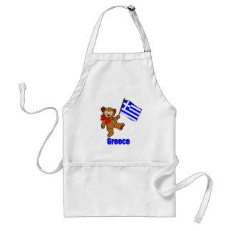 Greece Teddy Bear Aprons