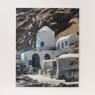 Greece Windmill Puzzle