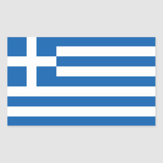 Greece's Flag Rectangular Sticker