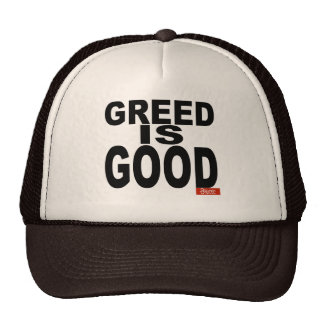 Greed is Good Cap