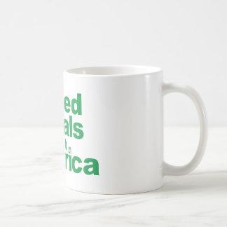 Greed Steals from America Basic White Mug