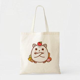 Greedy Hamster Tote Bag