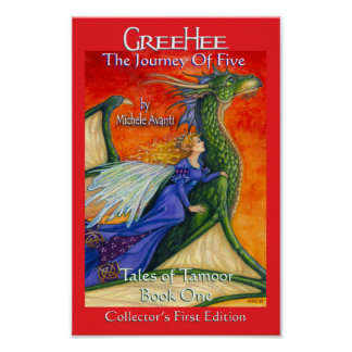 GreeHee The Dragon & Fairy Princess Loni Poster