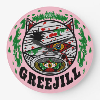GREEJILL Wall clock