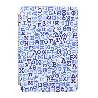 Greek alphabet iPad mini cover