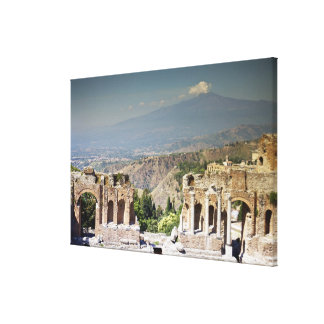 Greek Amphitheatre 2 Canvas Print