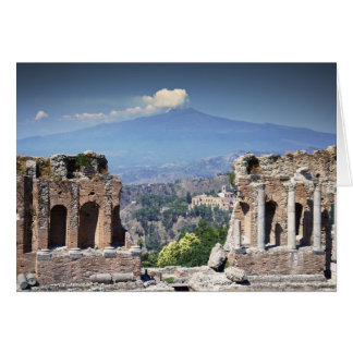 Greek Amphitheatre 2 Card