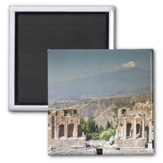 Greek Amphitheatre Square Magnet