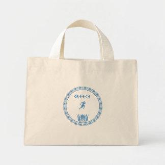 Greek ancient pattern mini tote bag