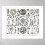 Greek and Roman gods Poster