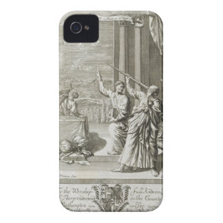 Greek Astronomer Studying the Stars, illustration Case-Mate iPhone 4 Cases