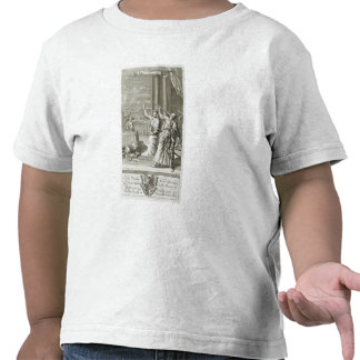 Greek Astronomer Studying the Stars, illustration T-shirts