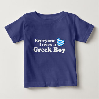 Greek Boy Baby T-Shirt