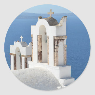 Greek Church Stickers (Santorini)