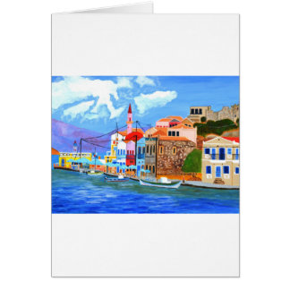 Greek coast card