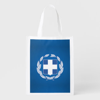 Greek coat of arms reusable grocery bag
