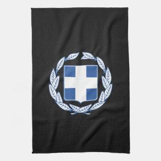 Greek coat of arms tea towels