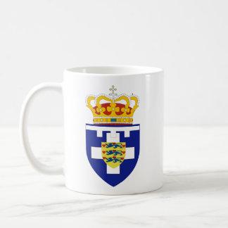Greek Crown Prince Arms, Greece Basic White Mug