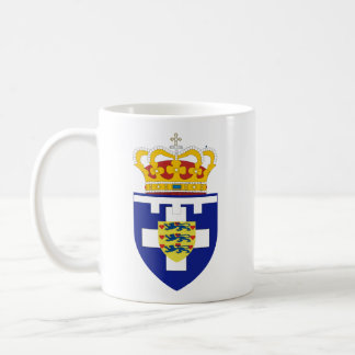 Greek Crown Prince Arms, Greece Coffee Mug