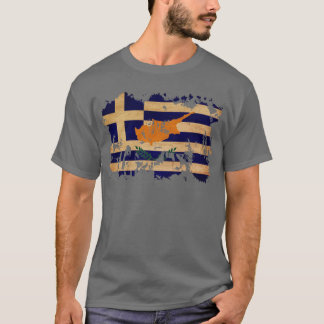 Greek Cyprus Flag T-Shirt