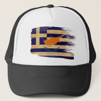 Greek Cyprus Flag Trucker Hat