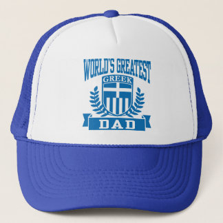 Greek Dad Trucker Hat