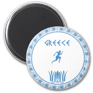 Greek dish magnet