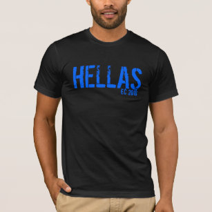 dbfd1caf3 Hellas T-Shirts & Shirt Designs | Zazzle UK