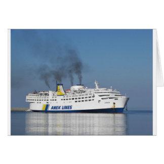 Greek Ferry Card