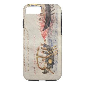 Greek fire (vellum) iPhone 8/7 case