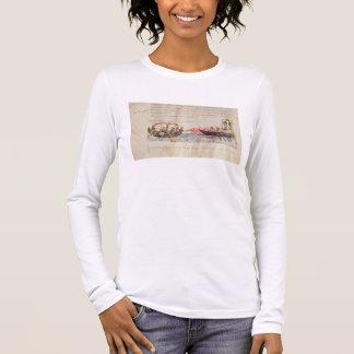 Greek fire (vellum) long sleeve T-Shirt