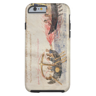 Greek fire (vellum) tough iPhone 6 case