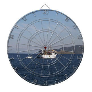 Greek Fishing Boat Dartboard